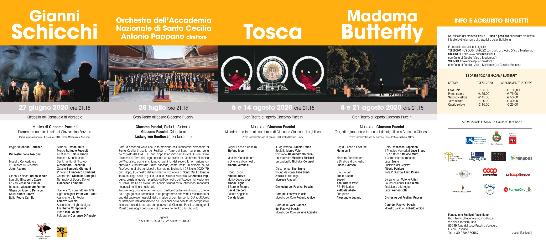 immagine progetto '66° Festival Puccini 2020'