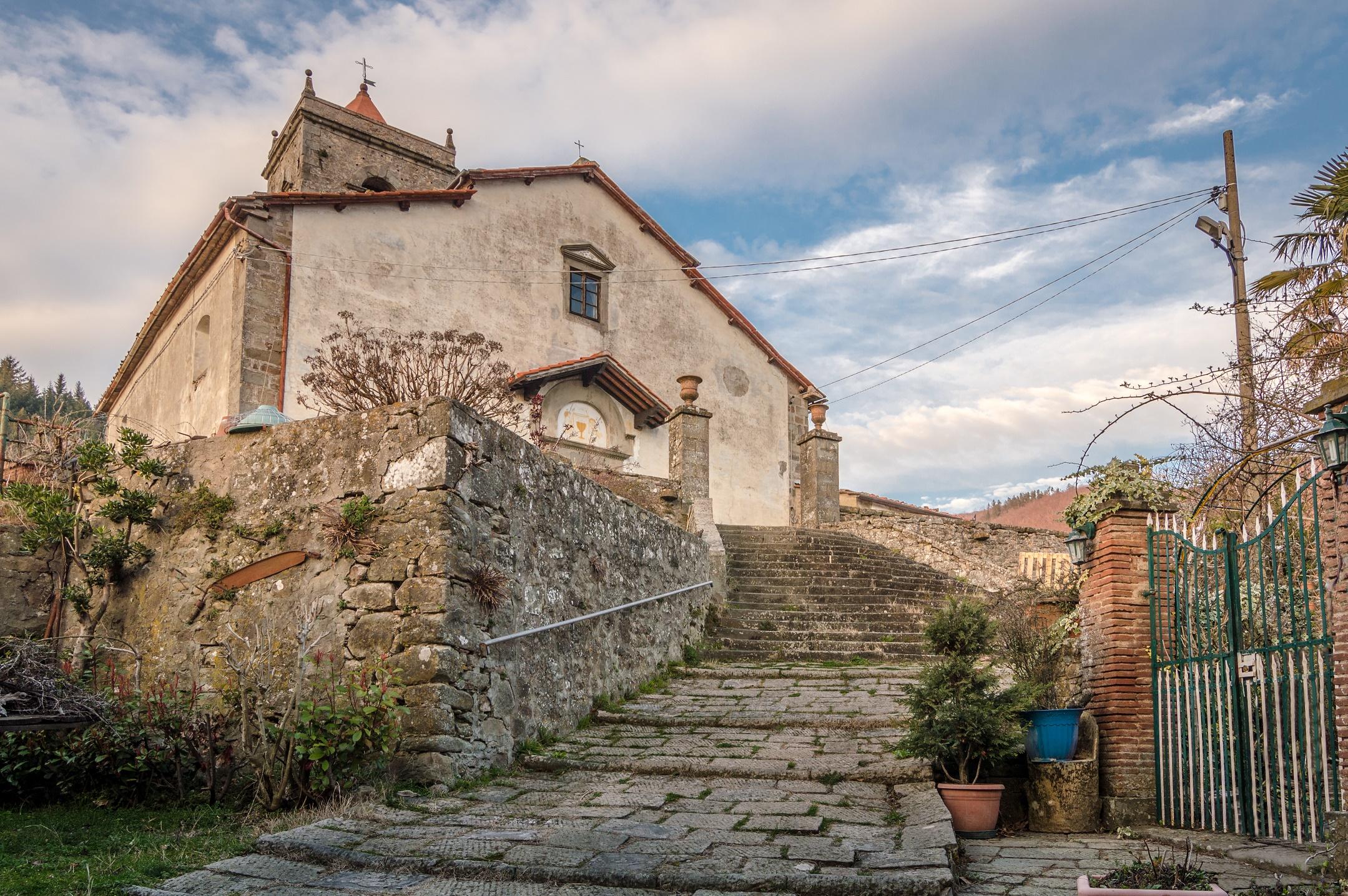 immagine progetto 'Consolidamento e restauro della Chiesa di San Miniato in Calamecca'